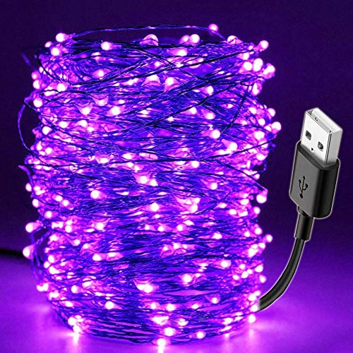 Find Cheap no logo PNBHP 10M Led Black Light UV String USB Christmas Halloween Party Waterproof DIY ...