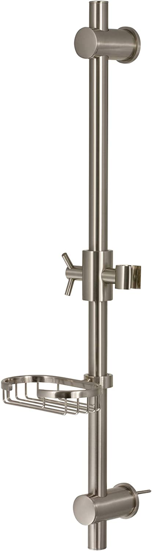 online shop PULSE ShowerSpas 1010-BN Max 45% OFF Adjustable Slide Shower wi for Hand Bar