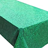 Grass Tablecovers (2), Mining Birthday Supplies, Luau and Summer Parties, Easter Events
