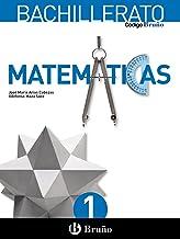 Código Bruño Matemáticas 1 Bachillerato - 9788469609170