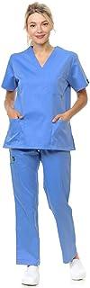 Citron Collection Soft Medical Uniform Women and Men Scrubs Set