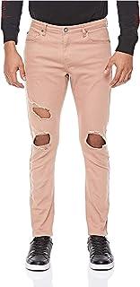 سروال جينز ممزق للرجال من ايكونيك