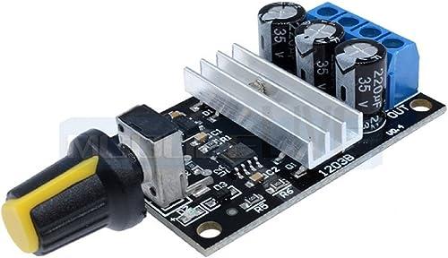 Robodo SEN51 PWM DC 6V 12V 24V 28V 3A Motor Speed Regulator Control Switch for DC Motors