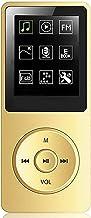 $44 » Botitu Hi-Fi Lossless Sound 8GB Music MP4 Player, 1.8-Inch Plug-in Card HD MP3 Player, Ultra-Light 50 Hours Music Playbac...