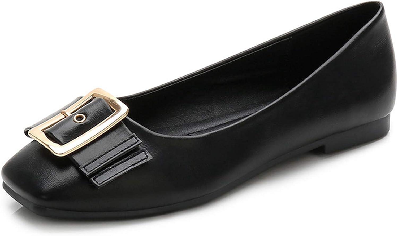 Litllin Green shoes Comfort shoes Leather Loafers Women Black Flats Harajuku shoes Flat shoes Women 2024
