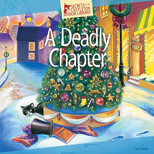 A Deadly Chapter audiobook cover art