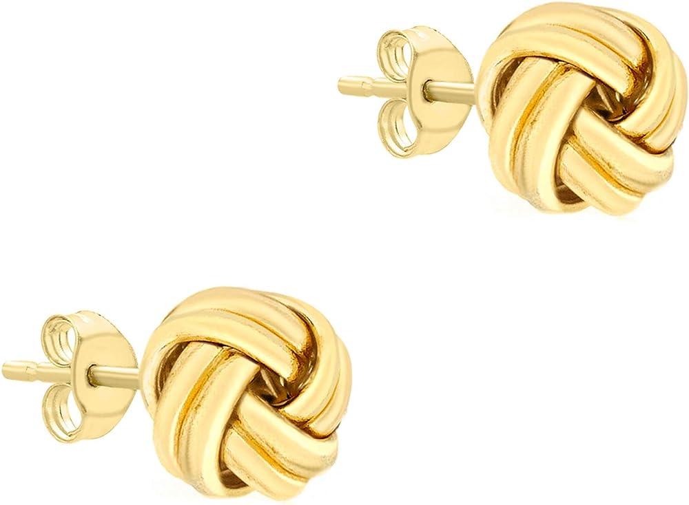 Carissima gold orecchini a lobo da donna in oro 18k (750)(1,1 gr) 7.55.6219