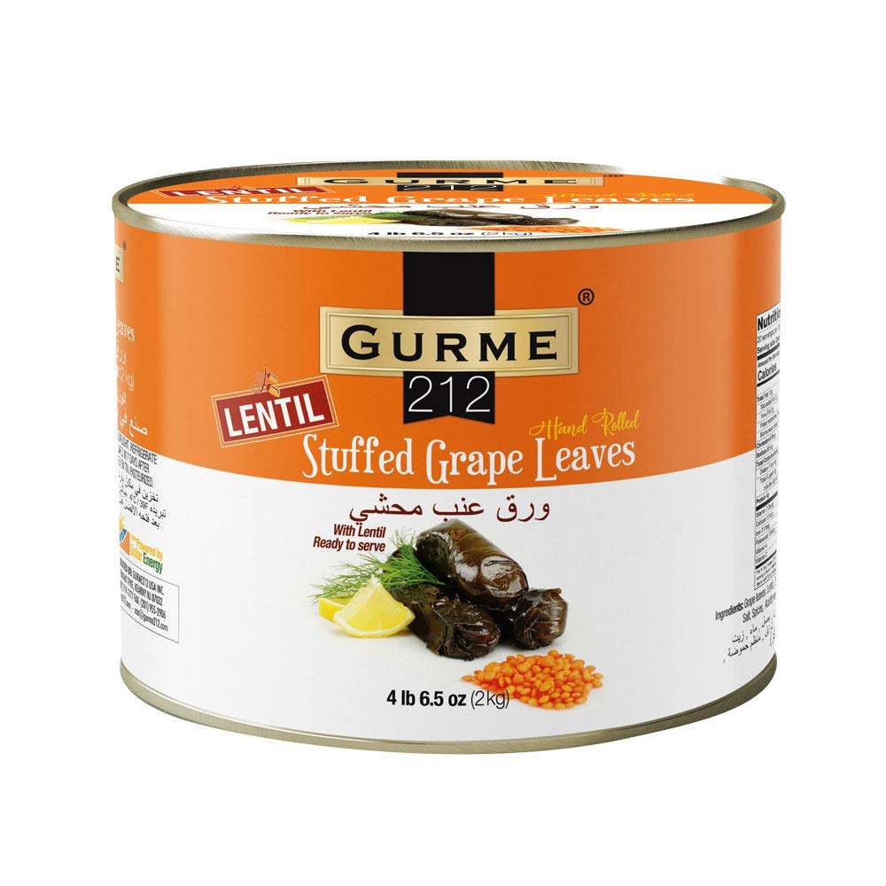 Gurme212 Lentil Stuffed Grape can lbs Leaves In a Max 71% OFF popularity 4.4