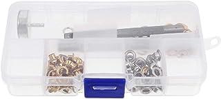 60 مجموعة من أدوات جروميت النحاسية ذات الأزرار مع 3 قطع من أدوات التثبيت