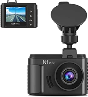 "Vantrue N1 Pro Mini 1080P Dash Cam with Sony IMX323 Sensor, Full HD 1920x1080P 1.5"" Car Dash Camera Video Recorder w/Super..."