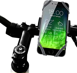 Koomus BikePro Universal Smartphone Bike Mount Holder for all iPhone and Android Devices, Black