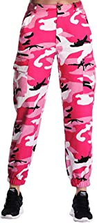 Women's Camo Pants Cargo Trousers Cool Camouflage Pants...