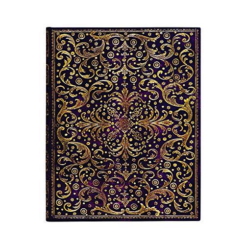 Paperblanks Notizbuch mit Lesebändchen & Innentasche | Aurelia | Ultra (230 x 180 mm) | 144 Seiten...