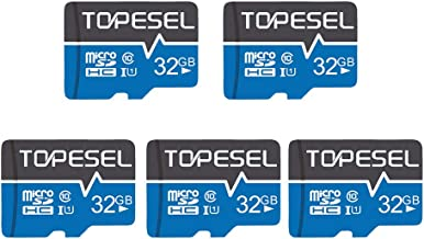 $24 » TOPESEL 32GB Micro SD Card 5 Pack Memory Cards Micro SDHC UHS-I TF Card Class 10 for Cemera/Drone/Dash Cam(5 Pack U1 32GB)