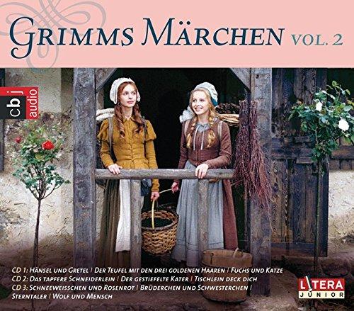 Grimms Märchen Box 2: Frau Holle, Das tapfere Schneiderlein, Der gestiefelte Kater, Schneeweißchen und Rosenrot, Brüderchen und Schwesterchen, Sterntaler u.a.