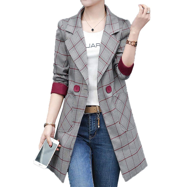 [美しいです]春秋 レディース スーツコート ジャケット テーラード ブレザー 洋服 レジャー カジュアル ファッション スプリング おしゃれ シンプル 無地 気質 優雅 オフィス 通勤 就活 面接
