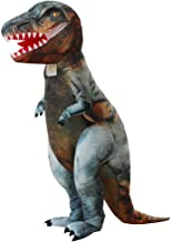Inflatable Clothing t-rex Dinosaur Tyrannosaurus inflate Costumes Christmas,Halloween Cosplay Clothes for Adult