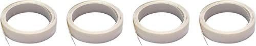 new arrival M-D Building Products 3525 M-D 0 V-Flex Weather-Strip with Adhesive Back, 17 Ft L X 7/8 sale in W, Polypropylene, 1 Pack, sale White (Fоur Paсk) outlet online sale