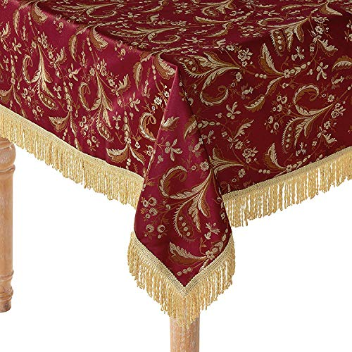 mantel jacquard fabricante Violet Linen