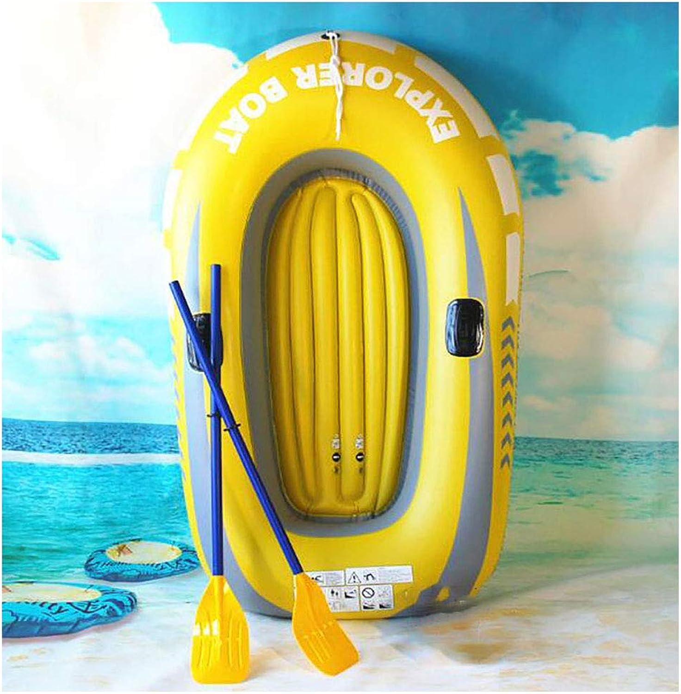 LMM Zwei-Personen-SchlauchStiefel-Set, PVC-gepolstertes KajakStiefel, mit Paddel und Handpumpe für die Sommerferien im Freien Pool Beach Party Dekoration