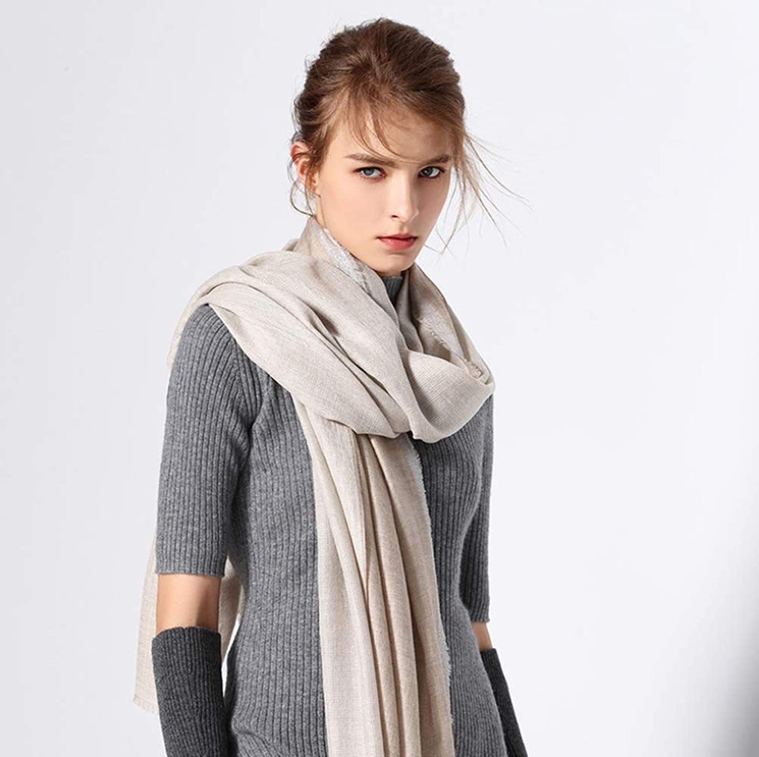 Women's Soft Classic Luxury Blanket Scarf Shawl Wrapped Women's Clothing,A