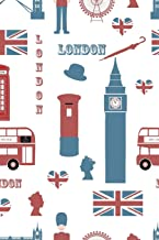 London: Great Britain Unlined Notebook (Journal, Diary)