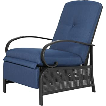 : SunLife Patio Recliner Lounge Chair, Resinweave