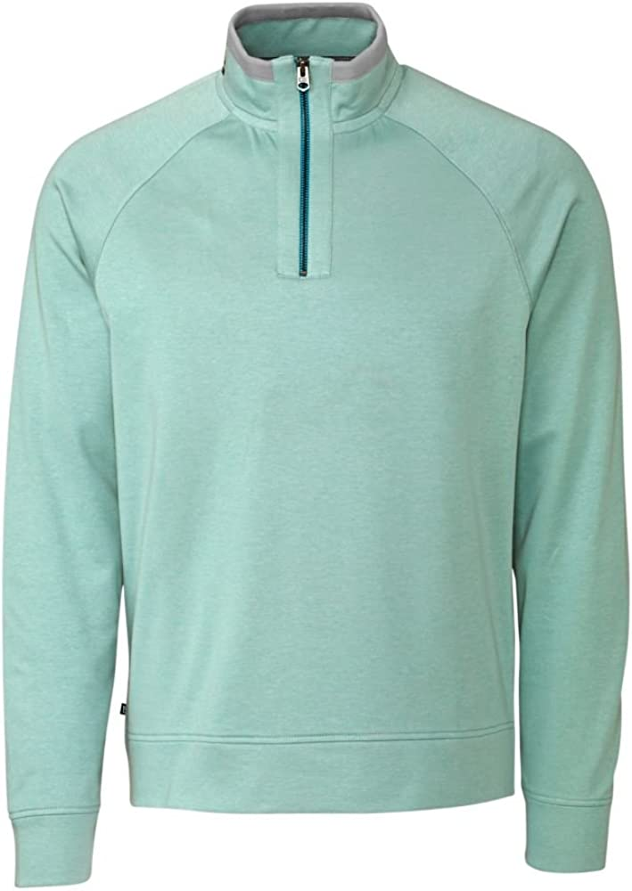 Cutter & Buck Men's Big-Tall Emery Half-Zip Sweatshirt