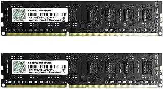 G.Skill F3-1600C11D-16GNT (DDR3 PC3-12800 8GB×2)