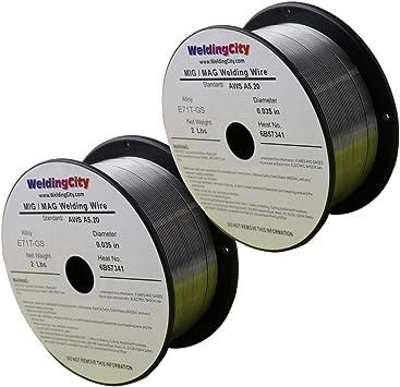 Self Shielded 1 × Flux cored welding wire Gasless Mig Welding Wire 0.8mm 2lb