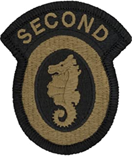 2nd Engineer Brigade Patch - OCP Multicam