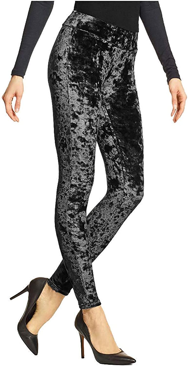 Hue Women's Crushed Velvet Leggings