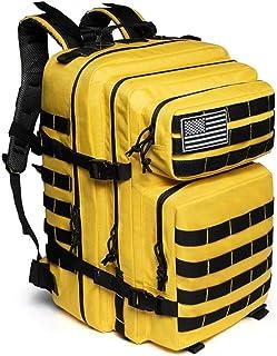 50L Mochila táctica Militar Impermeable Trekking Mochila de Senderismo Camping para Hombre/Mujer Gym Fitness Bag Army Military Mocksack