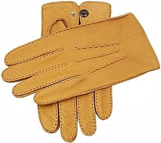 コルクClifton裏地なしPeccaryレザー手袋をDents US サイズ: Large/Extra Large カラー: イエロー