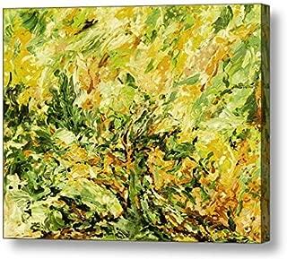 "Sunshine Daydream, Lemon Lime - 15.8""H x 20""W Canvas Print"