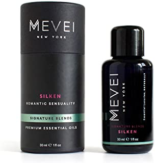 MEVEI | SILKEN - Romantic Sensuality | Luxury Essential Oil Blend for Sensuality | 100% Pure and Natural (1 fl oz/30 ml)