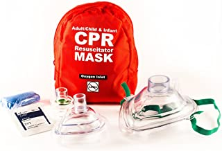 CPR Mask Combo Kit for Adult/Child and Infant