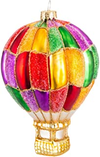 Best hot air balloon blown glass ornament Reviews