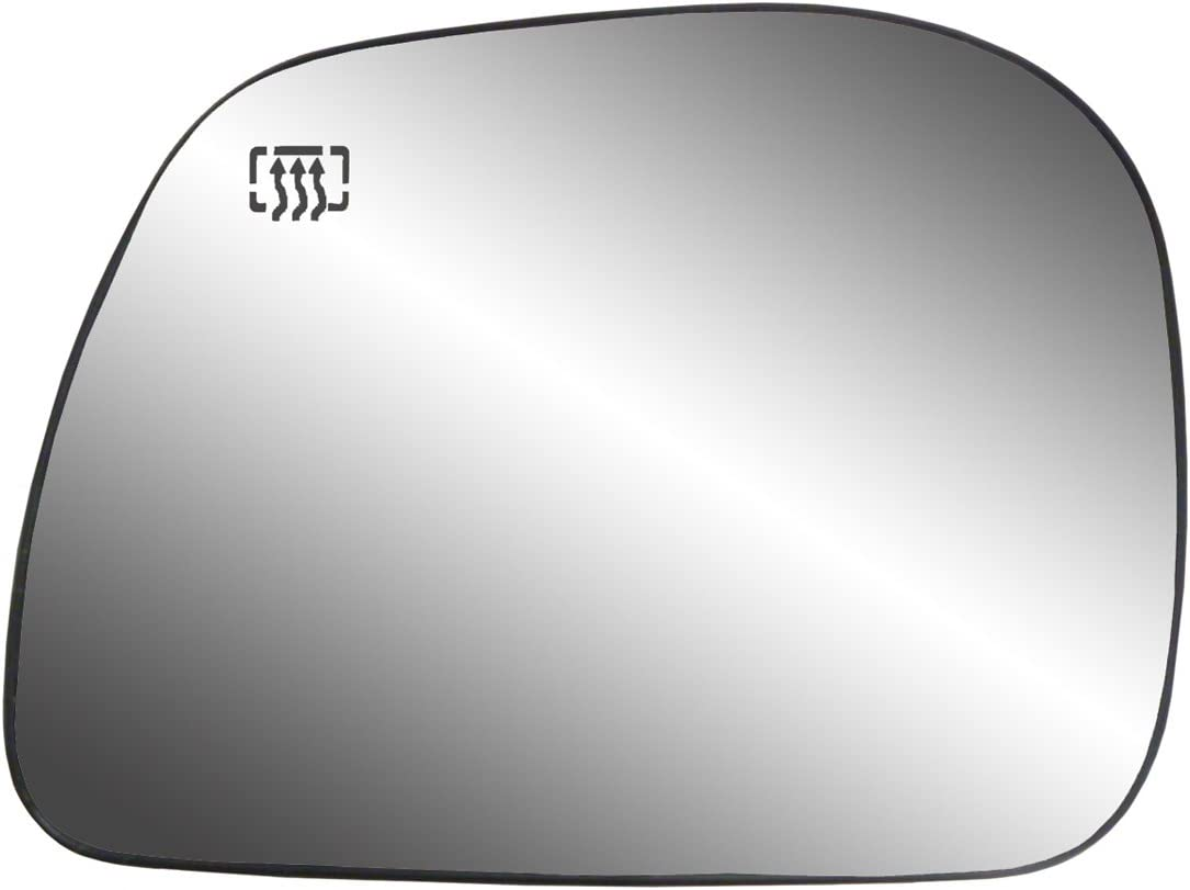 Cheap mail order sales Fit System Driver Side Heated Mirror Recommended Ford Glass Backing w Plate