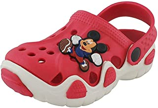 Onbeat Kids Red White Clogs