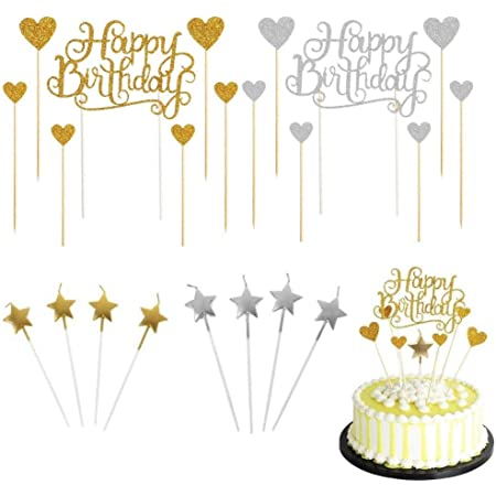 Nummer 21 2 St/ücke Zahl Kerze Gold Glitzer Kerzen Dekorative Geburtstagstorte Kerzen Geburtstag Kuchen Topper Dekoration f/ür Hochzeit Geburtstag Jubil/äum Feier Abschlussfeier
