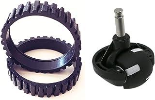 comprar comparacion EPIEZA Neumáticos (x2) y Rueda Delantera (x1) para CECOTEC Conga 990, 990 Excellence. y ECOVACS N79, N79S
