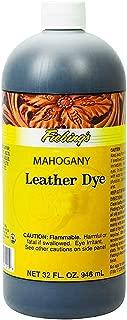 Fiebing's FILDYE79P032Z Leather Dye - Mahogany, 32 oz