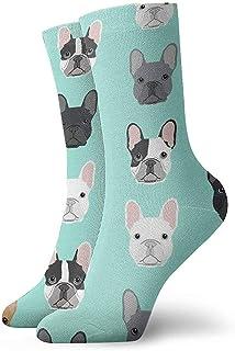 Dydan Tne, Niños Niñas Loco Divertido Bulldog Francés Cachorro de Perro Dulce Cachorros Calcetines para Perros Calcetines Lindos de Vestir de Novedad