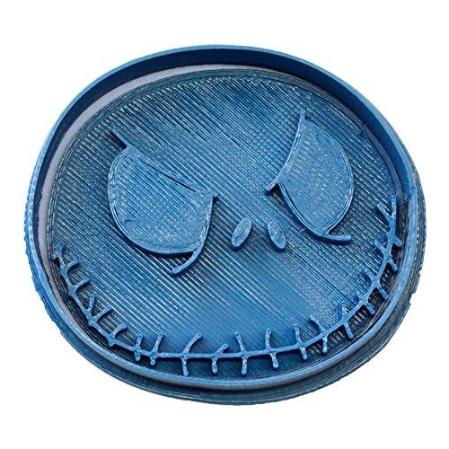 Cuticuter Halloween Jack Cortador de Galletas, Azul, 8x7x1.5 cm