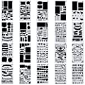 yueton Pack of 2 Stainless Steel Drawing Painting Stencils Scale Template + 1 Gift Template Sets Graphics Stencils for Scrapbooking, Card and Craft Projects