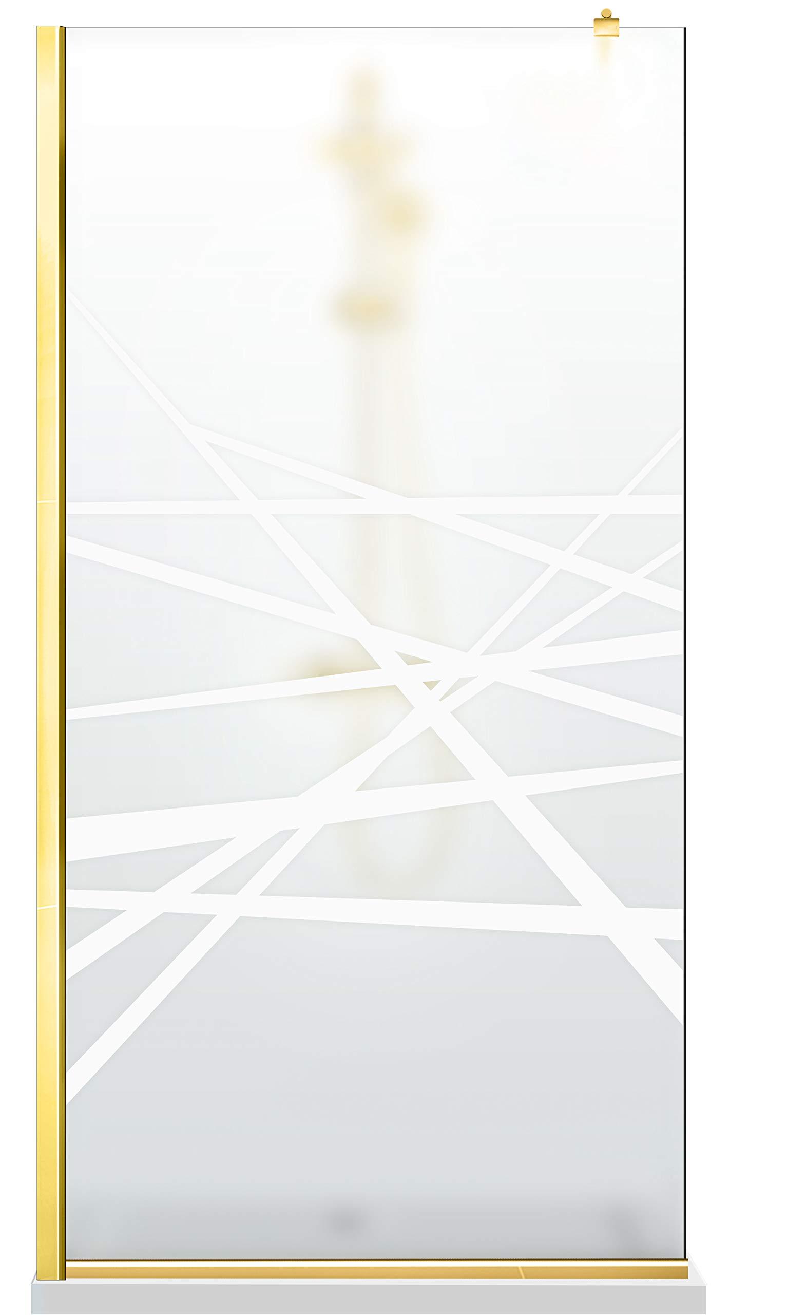 Modern Glass Art Leroy Timeless Oslo - Mampara de ducha (8 mm ...