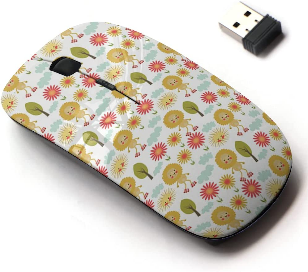 2.4G Wireless Mouse with We OFFer at cheap prices Cute Pattern Laptops and Design All Genuine Free Shipping for