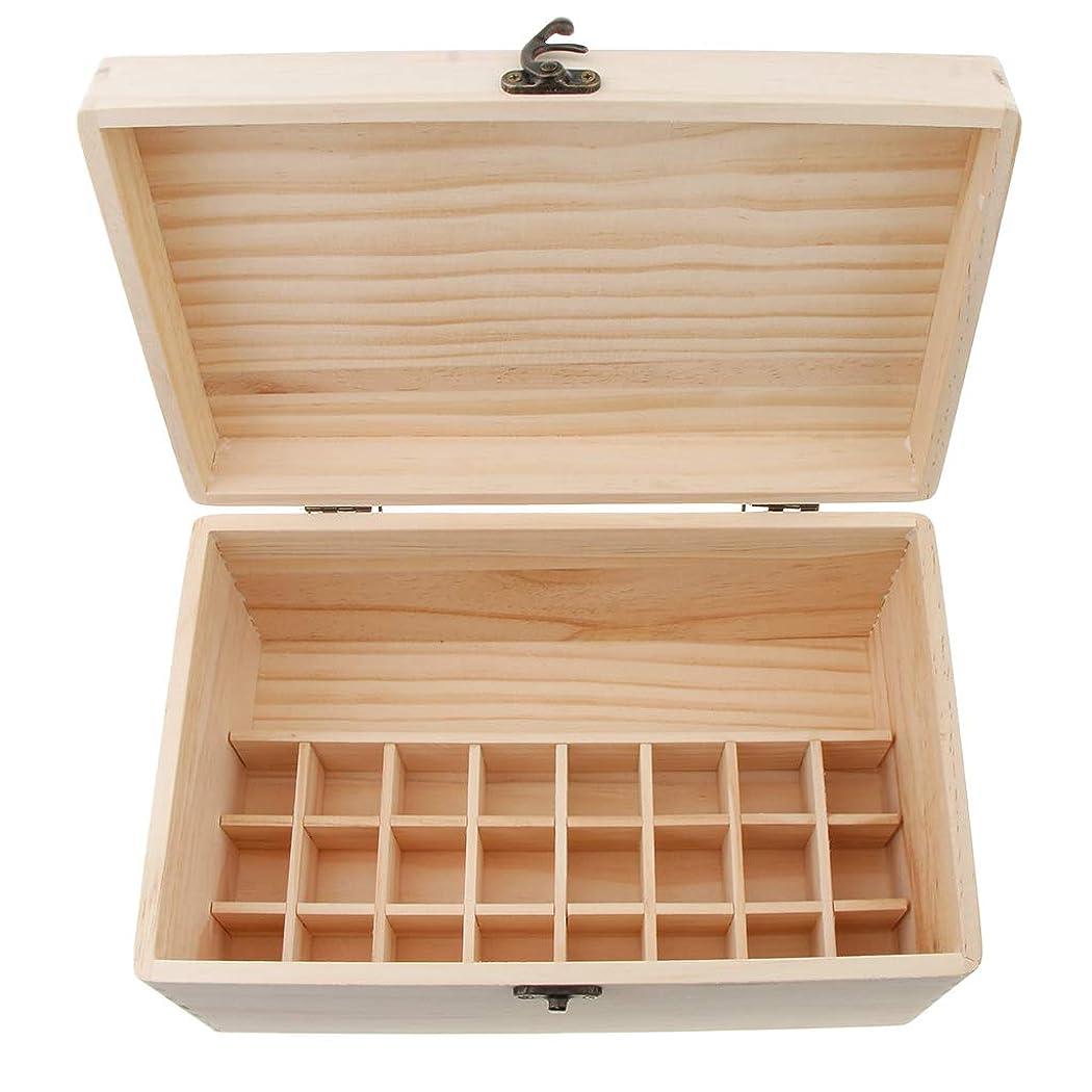 エゴイズム分布ベーカリーsharprepublic エッセンシャルオイル 木製収納ボックス ディスプレイ キャリーケース オーガナイザーホールド 32本