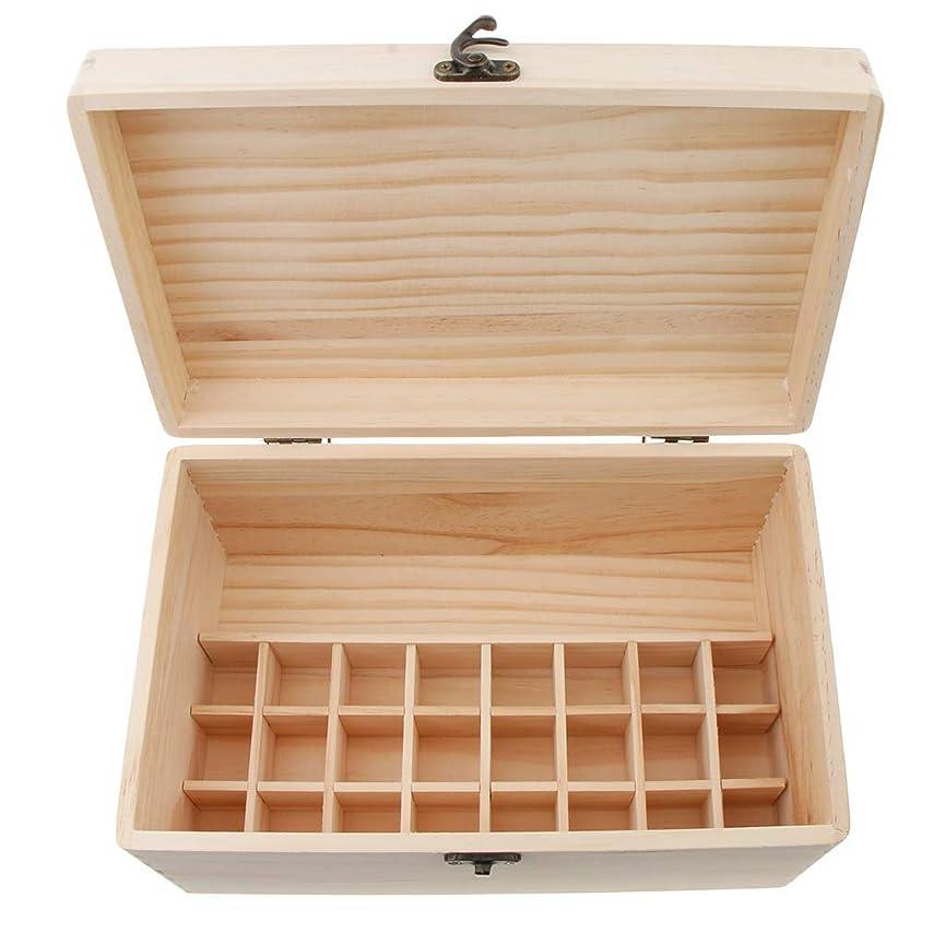 クラック残忍な聡明sharprepublic エッセンシャルオイル 木製収納ボックス ディスプレイ キャリーケース オーガナイザーホールド 32本